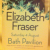 Elizabeth Fraser - Live At Bath Pavilion, Somerset 2012.08.04