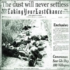 Taking Your Last Chance - The Dust Will Never Settle